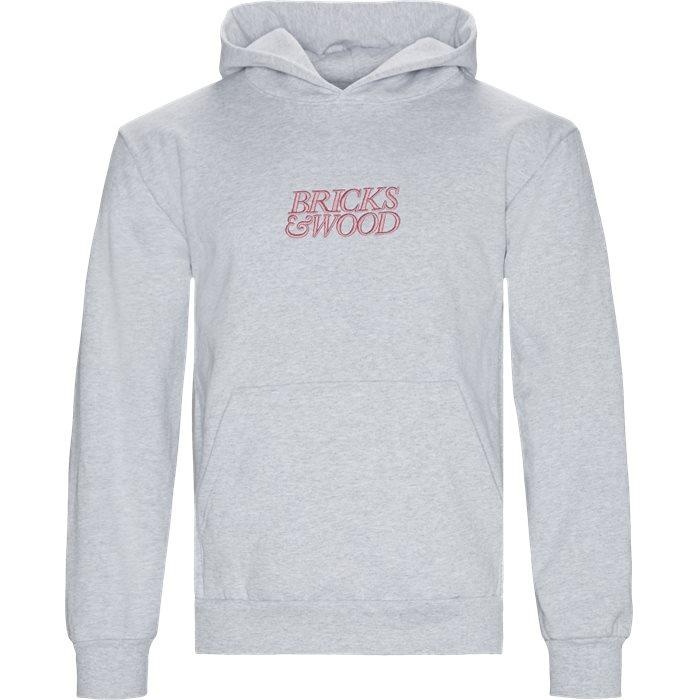 Hoodie - Sweatshirts - Oversized - Grå